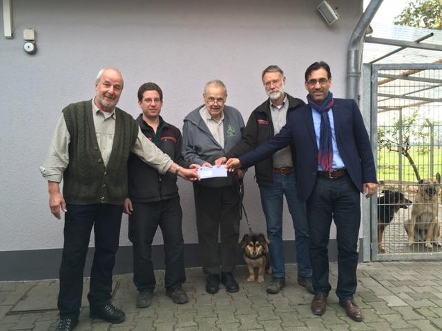 Unterstützung von Suppenküche und Tierheim