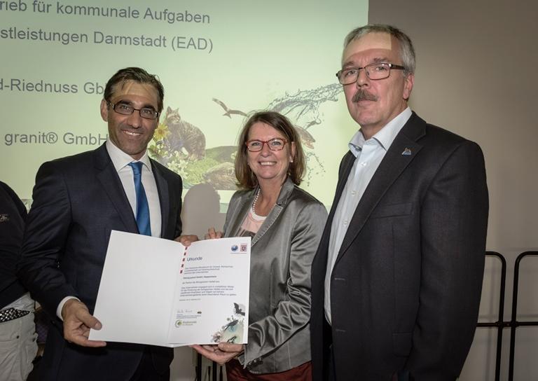 Auszeichnung: Partner der Biologischen Vielfalt